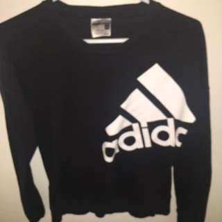 Black Adidas sweater