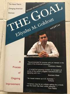 The Goal 2nd revised edition