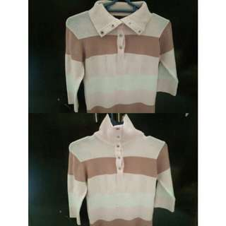 Stripes Pink Rajut
