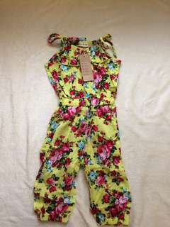 Baby Girl Jumpsuit Short Summer Playsuit