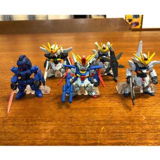 GUNDAM CONVERGE ZZ X BLUEDESTINY SET Lot Sell 5pcs figure BANDAI JP