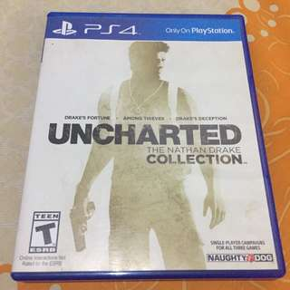 BD Uncharted Collection PS4