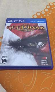 BD God of War 3 PS4