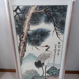 Original Chinese Painting(松鹤)