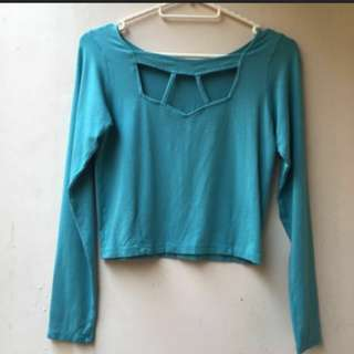CHARITY SALE BLUE TOP