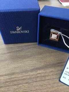 ORIGINAL Swarovski 1179789 Rose Gold Tactic Ring