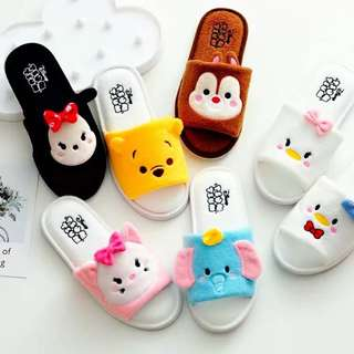 Little Tsum Tsum House Slipper   Design: as attach photo  Size: suitable for shoe size 36-38