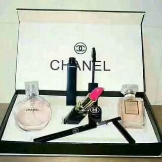Chanel Perfume&Makeup Set♡