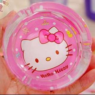 Ashtray hello kitty