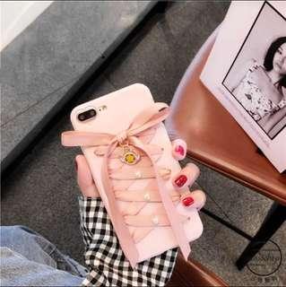 iPhone pink ribbon casing