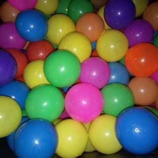 Plastic ball