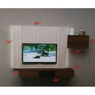 FULL SET HANG TV CABINET