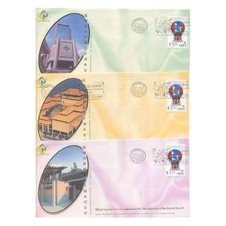 1998-1101-H1紀念金封,區域市政局10周年共10金封-區域市政局節宣傳機首日印-H1