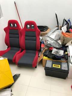 TRD SEAT RED COLOUR ORIGINAL MADE IN JAPAN