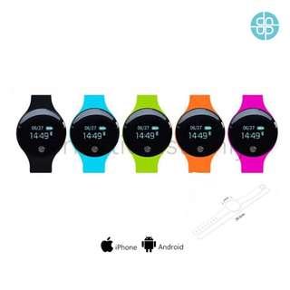韓版輕觸式手錶