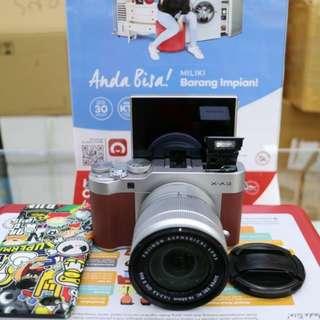 Camera mirorles fujifilm xa 3 bisa di cicil tanpa kartu credit