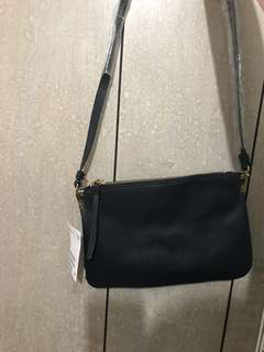 全新 H&M 黑色斜咩袋