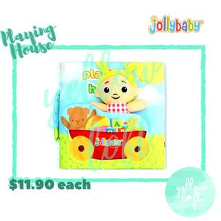 Jollybaby Quiet Book - Playing House