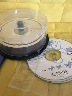 吉DVD+R 20pcs 4.7GB (送3隻CD 730MB) pick up at Tuen Mun