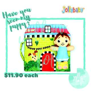 Jollybaby Quiet Book - Have You Seen My Puppy?