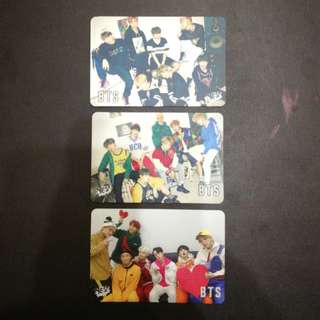BTS 30期 yes card