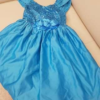 Disney Frozen Elsa party dress