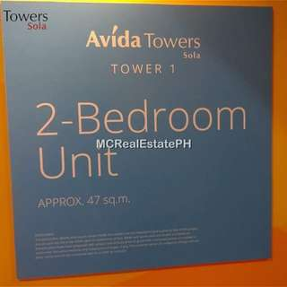 CONDO for SALE in QC Area - 2BR (Vertis North - Avida Towers Sola)
