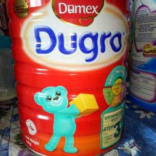 Brand new sealed. Dugro Milk Powder Step 3(1.6kg)