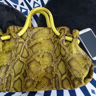 FURLA Tote Bag Genuine Leather