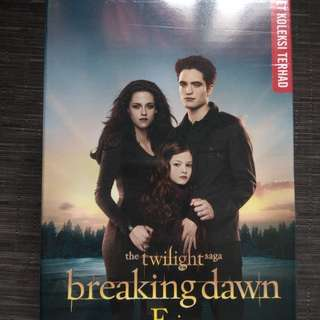 4 series Twilight novels (malay version)