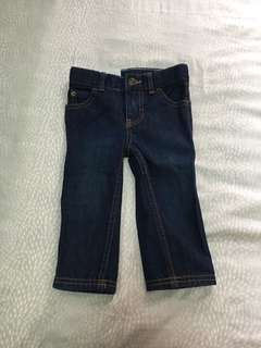 BNWT - Carter's Denim Jeans (12mths)