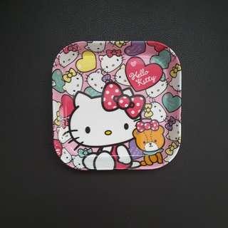 Cartoon Hello Kitty Plate