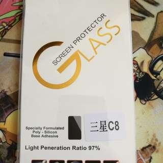 Samsung三星C8 玻璃膜