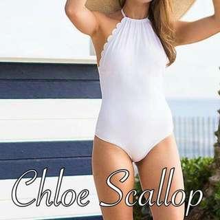 Chloe Scallop One-piece