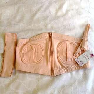 Hand free bra
