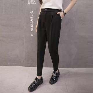 Basic Black Work Pants