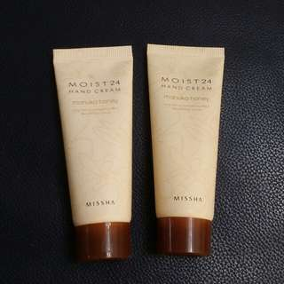 Missha hand cream 30ml ×2