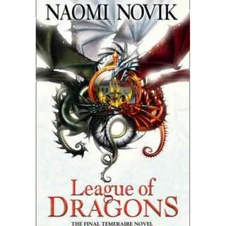 (Brand New) League of Dragons Temeraire Series By: Naomi Novik
