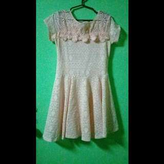 REPRICED!! Pink lace dress