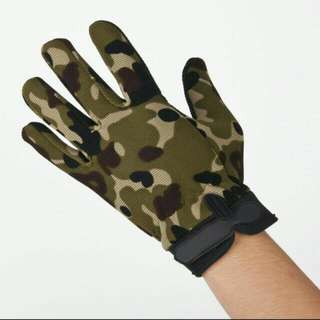 Men's Camouflage Tactical Full-Finger Sports Outdoor
