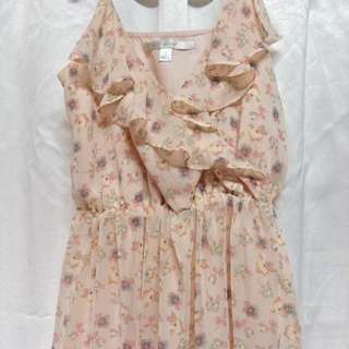 LC Ruffled Floral Dress