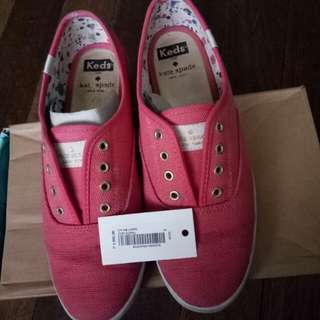 Pre-loved Authentic Keds Kate Spade Sneakers in Coral