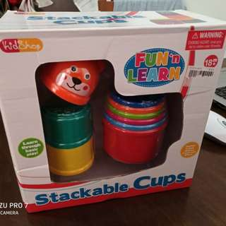 Stack 'N Learn Stackable Cups