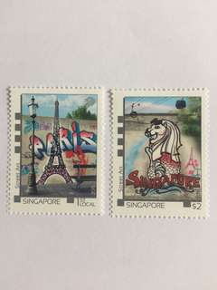 Singapore 2015 france joint issue mnh