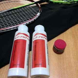 Badminton grip/powder