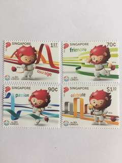 Singapore 2015 sea games mnh