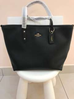 Original coach women shopping tote handbag shopping bag