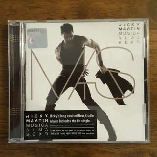Ricky Martin - musica alma sexo music cd