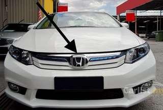 Civic hybrid 2013 original front grille