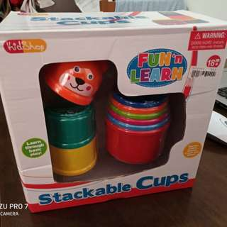 Stack 'N Learn Stackable Cups (2 sets)